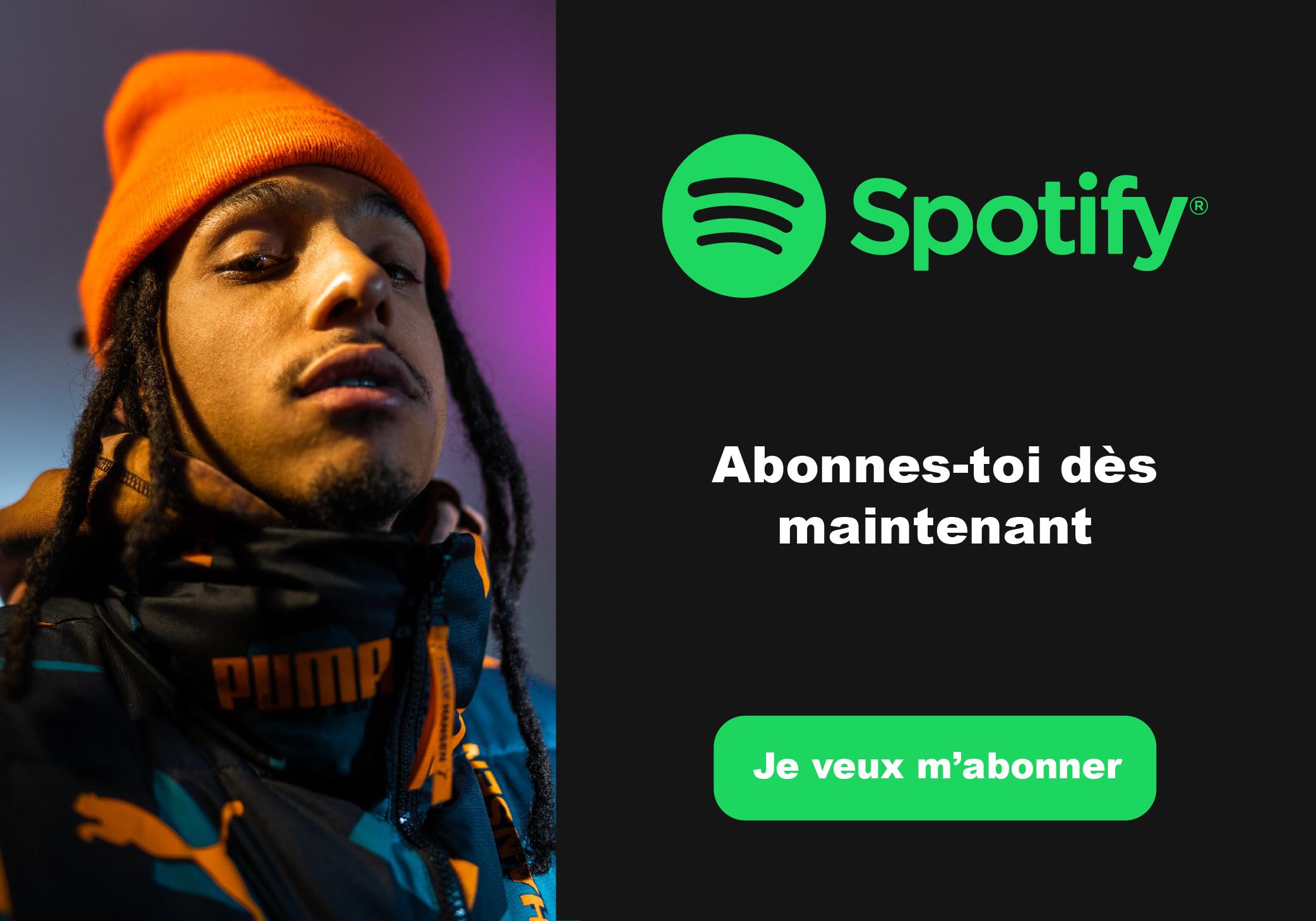 popup Spotify